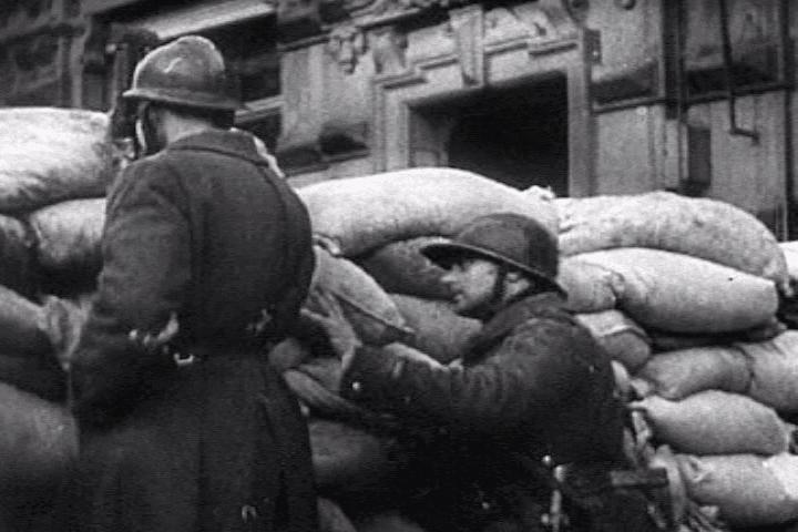 La seconde guerre mondiale sur le front ouest est une drôle de guerre